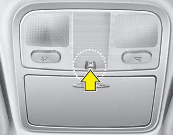Interior light features of your vehicle kia magentis owners manual kia magentis kia manuals for Kia sorento interior lights wont turn off