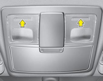 Interior lights features of your vehicle kia sorento owners manual kia sorento kia manuals for Kia sorento interior lights wont turn off