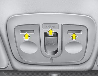 Interior light features of your vehicle kia soul owners manual kia soul kia manuals for Kia sorento interior lights wont turn off